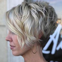 Long Pixie Hairstyles, Short Pixie Haircuts, School Hairstyles, Latest Hairstyles, Wedge Bob Haircuts, Short Wavy Pixie, Curly Pixie, Teenage Hairstyles, Asymmetrical Pixie Cuts