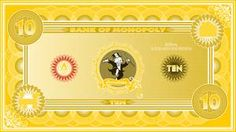 Monopoly bank note 1 poly by ironic440 on DeviantArt Monopoly Cards, Monopole, Board Games, Card Stock, The 100, Printables, Deviantart, Banknote, Gaming
