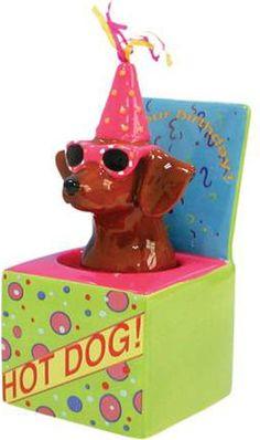 Westland Hot Diggity Dog Doxie in a Box