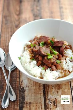 You are going to LOVE this red beans and rice in the slow cooker because it is so delicious and easy!