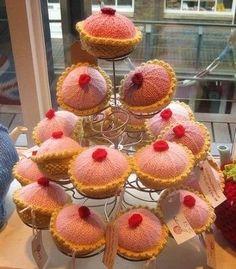 cupcake knitting patterns