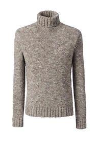 Wool Blend Cozy Marl Turtleneck