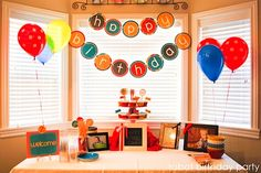 Robot Birthday Party Feature and Robot Party Printables