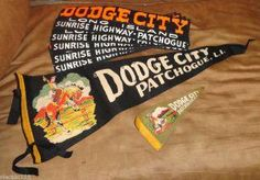 Dodge City banners and bumper stickers