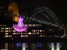 Vivid light show Sydney Party Hire, Most Beautiful Cities, Sydney Harbour Bridge, Australia, City, Travel, Viajes, Cities, Trips