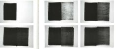 """Untitled (14 part roller drawing)"", Richard Serra, (1973)"
