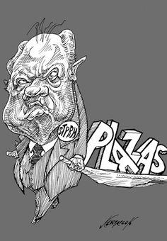 """""""Rescatista"""" Cartón de Nerilicón #Pemex #STPRM #Política #México #Cartones #Humor"""