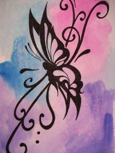 watercolor tattoos | myheartart | original watercolor butterfly 8 | Online Store Powered by ...