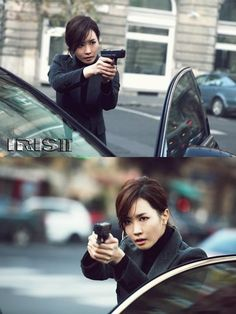 Iris 2 Preview: Is Lee Da Hae a Better Shooter Than Jang Hyuk? pinned with Pinvolve