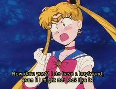 A Small But Tasteful Sailor Moon Dump Sailor Moon Quotes, Sailor Moon Funny, Arte Sailor Moon, Sailor Venus, Sailor Moon Aesthetic, Aesthetic Anime, Sailor Moon Screencaps, Moon Icon, Sailor Moon Wallpaper