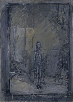 Alberto Giacometti October 1901 – 11 January was a Swiss sculptor & painter - Recommended by RAFO, Galleria Morcote & swissartgroup Alberto Giacometti, Giacometti Paintings, Statues, Hirshhorn Museum, Social Art, Purple Art, Oeuvre D'art, Impressionist, Les Oeuvres