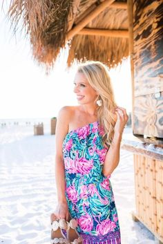 29469f3ccac Lilly Pulitzer Flamingo Print Dress - Lilly Pulitzer After Party Sale Tips    Tricks. Pamela Pheasant · Wants · Lilly Pulitzer Ritz Strapless Romper ...