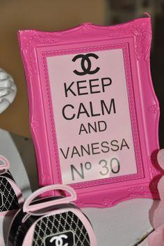 keep calm chanel