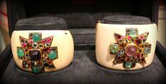 Verdura, Maltese Cross Cuff Bracelets created for Coco Chanel
