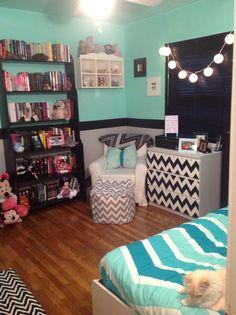 Amanda's completed Chevron room