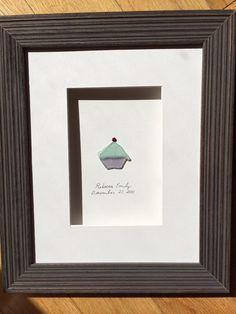 Meer-Glas-Cupcake von Sharon nowlan von PebbleArt auf Etsy