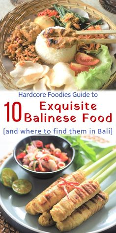 one must not leave Bali without trying these 10 authentic and super delicious Balinese food. The best part is we even throw in a few recommendations on where to find these amazing delicacies according to the locals! Indonesian Food, Indonesian Recipes, Asian Recipes, Ethnic Recipes, International Recipes, Foodie Travel, Ubud, Places To Eat, Street Food