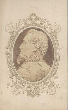 William Shew ca. 1870, San Francisco - believed to be Generel Cobb whom Ole Bull met in San Francisco