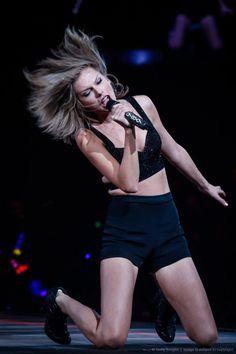 November 10: [More] Taylor performing at the 1989 Tour in Shanghai, China [GPs]