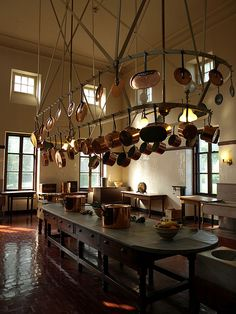 Kitchen at The Breakers, Newport, Rhode Island