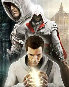 Desmond Miles, Altair Ibn-La, Ezio Auditore Di Firenze From Assassin's Creed