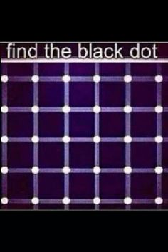 Optical illusion I have found many black dots on this but they keep moving thanks Duane! Eye Illusions, Cool Optical Illusions, Eye Tricks, Brain Tricks, Reto Mental, Funny Mind Tricks, Word Mind Tricks, Pin It, Carla Diaz
