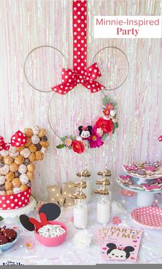 Minnie Mouse Party Ideas The Ultimate Guide Disney Family Decoration, Decoration İdeas Party, Decoration İdeas, Decorations For Home, Decorations For Bedroom, Decoration For Ganpati, Decoration Room, Decoration İdeas Party Birthday. #decoration #decorationideas