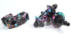 Madera BMX - Dan Kruk Signature Party Paint Colorway  Details: http://bmxunion.com/daily/madera-dan-kruk-signature-party-colorway/  #BMX #bike #bicycle #paint #party #style #design #art