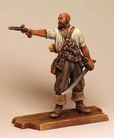 The pirate with the pistol, 1660-80