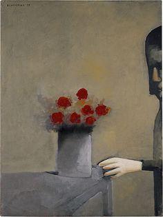 Charles Blackman ~ Silence, 1959
