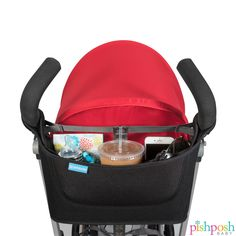 Essentials are right there at your fingertips with UPPAbaby's Carry All parent organizer. Fits all strollers, priced at $29.99.  http://www.pishposhbaby.com/uppababy-carry-all-parent-organizer.html