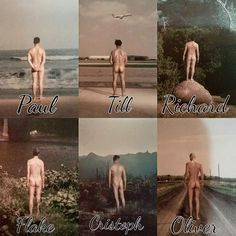 Rammstein butts. I need Paul's picture ❤