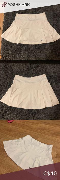 Nike Pleated Tennis Skirt Pleated white nike tennis skirt. 8/10 condition. Nike Skirts Circle & Skater Nike Dresses, Pleated Tennis Skirt, Quay Australia Sunglasses, Pinstripe Pants, Shawl Cardigan, Nike Tennis, Wide Leg Jeans, White Nikes, Nike Women