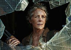 Carol Is Queen Badass In A Stellar Walking Dead Season 5 Premiere -- finally showing off how awesone she is!!