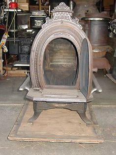 Antique Parlor Stove - Todd Stove