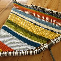 Picture of Branch Weaving.  Tutorial with all the steps plus pattern for the weaving.