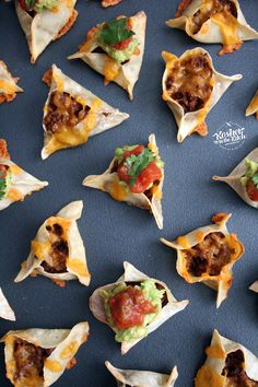 Taco Hamantaschen {meatless dairy tacos!}