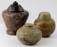 Potion Bottle Spell Bottle Incense Herb Jars Herb Storage Jars Set of 3 Wicca