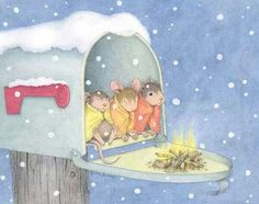 Campfire Mailbox