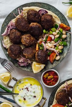 Homemade Turkish Meatballs aka kofte are the best things to happen for dinner. Tender and perfectly juicy. It's not a secret anymore to make meatballs.