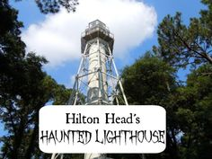 Haunted Hilton Head Lighthouse at Arthur Hills golf course, Palmetto Dunes, Hilton Head Island