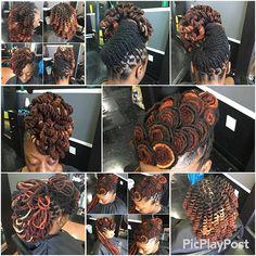 Same client , different locstyles #hairbyrelle#karibbeankinks…