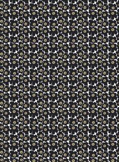 Marimekko Mini Unikko OIL CLOTH one yard, 56 wide x stylish artistic print great for table coverings, totes bags, make up purses etc. ships from Finland laminated cotton A-class, perfect material Orla Kiely Fabric, Marimekko Fabric, Textile Design, Fabric Design, Extra Fabric, Japanese Fabric, Bold Prints, Fashion Fabric, Beautiful Patterns