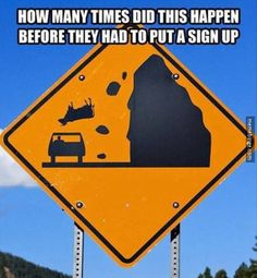 Beware of the suicidal cows. http://mbinge.co/1pXKjHo