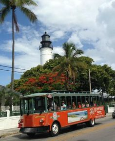 2 great things to do while in Key West.  Day trip or longer.  Lighthouse tour or the Trolley Tour...