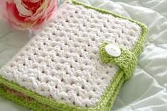Crochet notebook cover...someone can make me one...hint hint