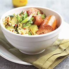 Best 20-Minute Dinners...  Sausage and Orzo