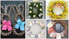Patří mezi nejoblíbenější velikonoční dekorace a můžete s nimi vyzdobit nejen venkovní dveře nebo branku Floral Wreath, Wreaths, Home Decor, Floral Crown, Decoration Home, Door Wreaths, Room Decor, Deco Mesh Wreaths, Home Interior Design