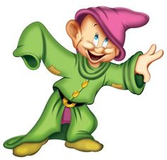 -picture of Dopey in Snow White