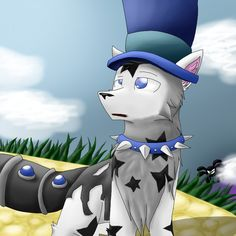 Aimal jam drawings | This is my main arctic wolf on Animal Jam by GoodKwolf